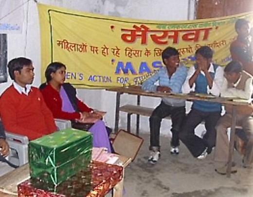 MASVAW Activists