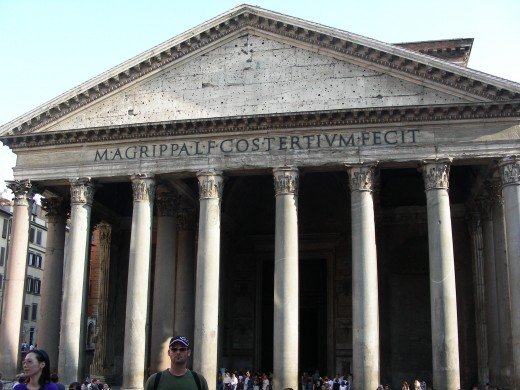 The Pantheon is another amazing site that you can visit while in Rome.