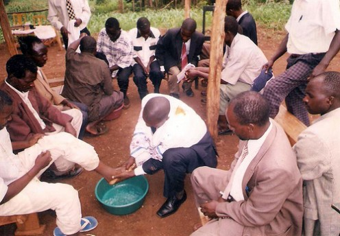 Passover Foot Washing in Te... Freedomchurchofgod.com