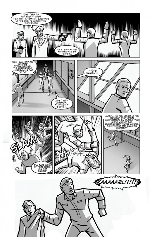 Red Leaf Comics