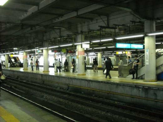 View from Shinagawa platform.