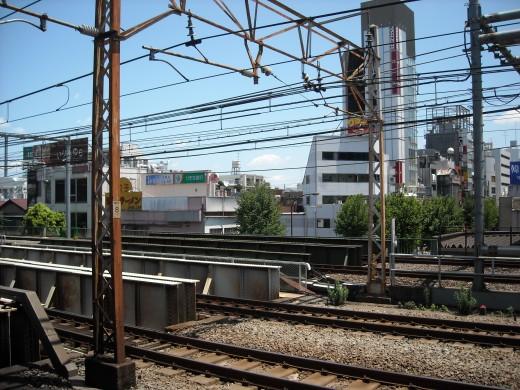 View from Shinokubu platform.