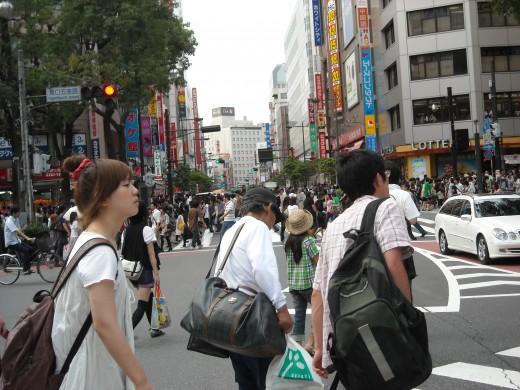 Downtown Ikebukuro.
