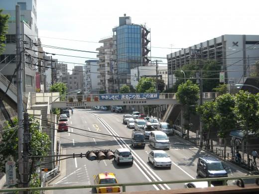 Downtown Nishi-Nippori.