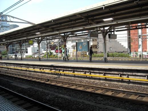 View from Uguisudani platform.