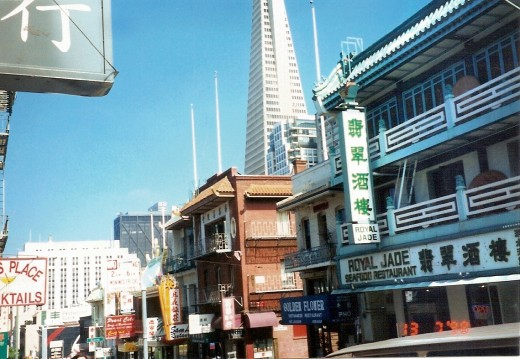 Our first view of Chinatown