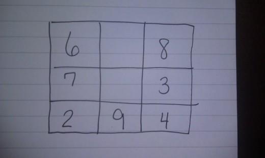 Solve this Magic Square