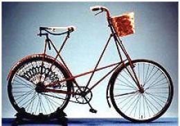 1899 Female bike-no bar across -easy access for bulky dresses