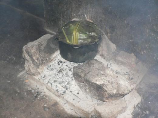 Cooking Matoke