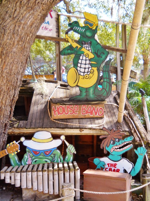 Crab Shack Gator Band.