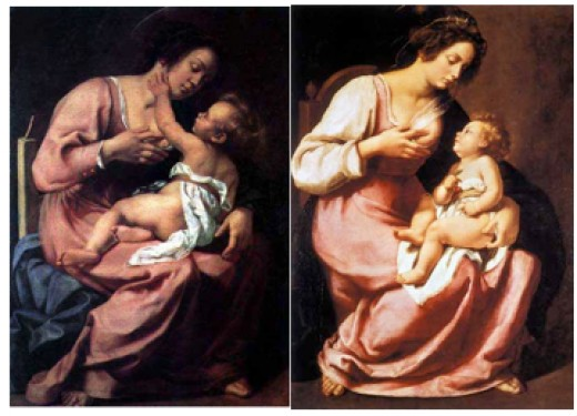 The Two Madonna and Child Paintings