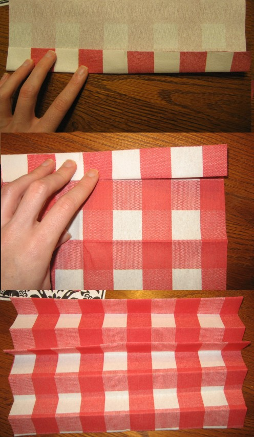 Step by Step Napkin Folding