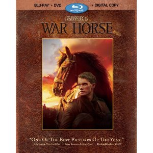 War Horse - Blu-ray - Set of 4 discs | starring Peter Mullen & Tom Huddleston - PG-13| image credit: Amazon