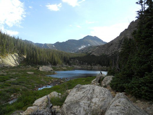 Pear Lake, Rocky Mountain National Park
