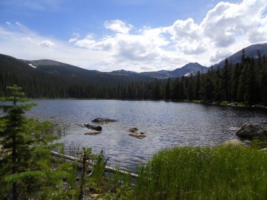 Finch Lake, Rocky Mountain National Park