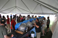 The many firkins of the Milwaukee Firkin Craft Beer Festival
