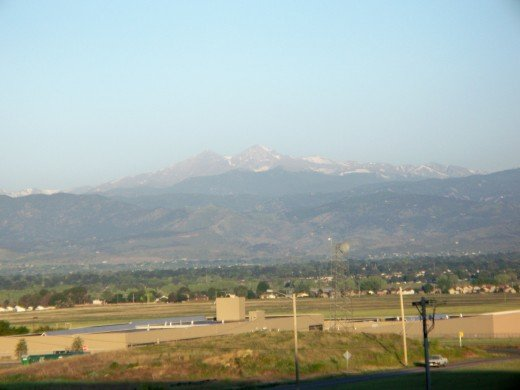 View of Pikes Peak from Focus on the Family