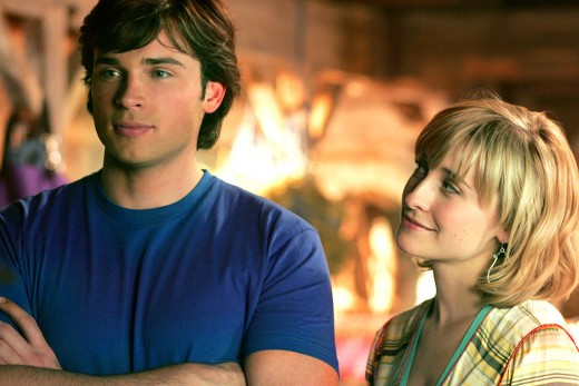 Clark Kent and Chloe Sullivan