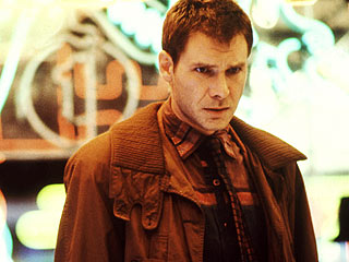 Harrison Ford as Rick Deckard
