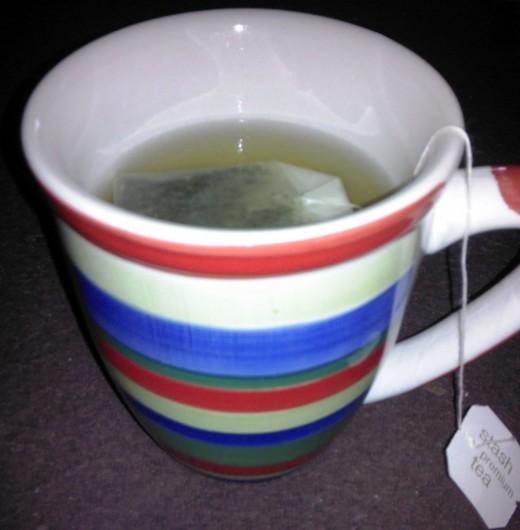 Mint tea!