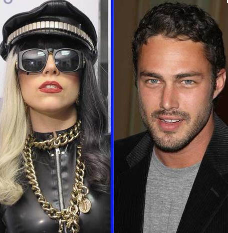 Gaga and boyfriend, Kinney