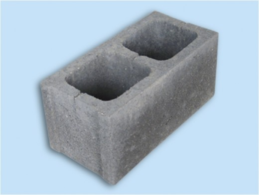 hollowed conctrete block