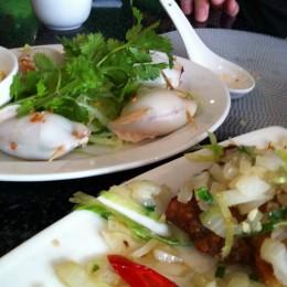 Vietnamese Stuffed Squid (Muc Nhoi Thit)