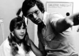 William Friedkin with Linda Blair