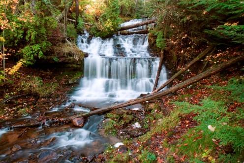 Wagner Falls, Wagner Falls Scenic Park, Michigan