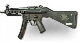 The MP5 has a low fire rate, but high mobility, meaning that it is best at close quarters combat when used with rapid fire.