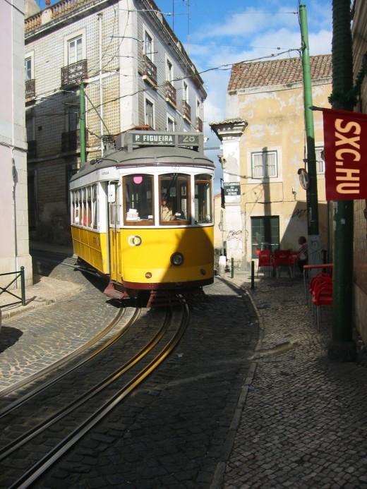 Tram by saavem @ www.sxc.hu