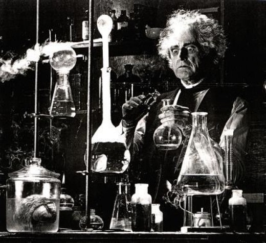 Many people believe science is organised by an army of post electric-shocked, unhinged old nutters.