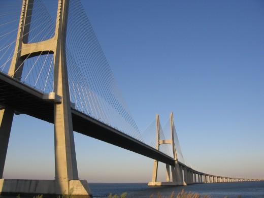 Ponte Vasco da Gama | Vasco da Gama Bridge by Attilio Ivan @ www.sxc.hu