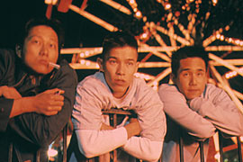 "Sung Kang, Jason Tobin, and Parry Shen from ""Better Luck Tomorrow"""