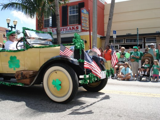 St. Patrick's Day Parade, Delray Beach, Florida 2008