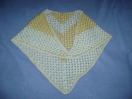 half-granny square shawl