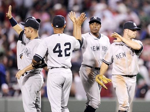 Expect to see a great deal of handshakes for the Yankees this year.