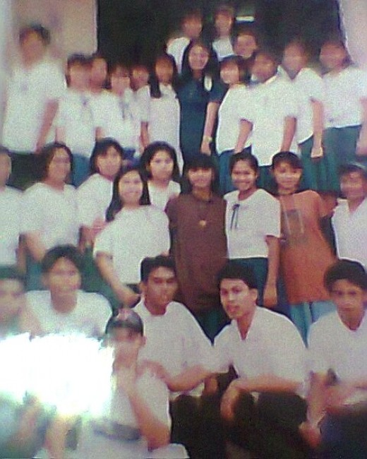 The last fourth year graduating high school students that I taught Values Education lV; Taken in 1993, Suarez High Schoo