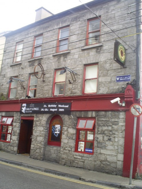 One of the many buildings that were built in the 15th century and are still used today in Historic Galway.