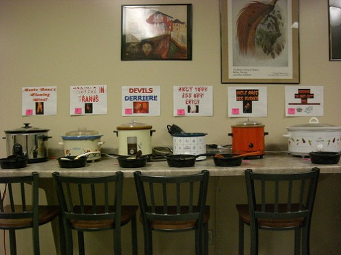 Crockpots in all sizes and shapes