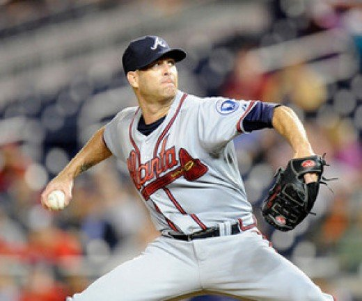 Tim Hudson is the elder statesman of the Braves elite pitching staff.