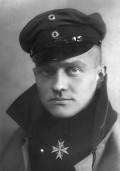 On a Steed of Red, Baron von Richthofen Rides to War