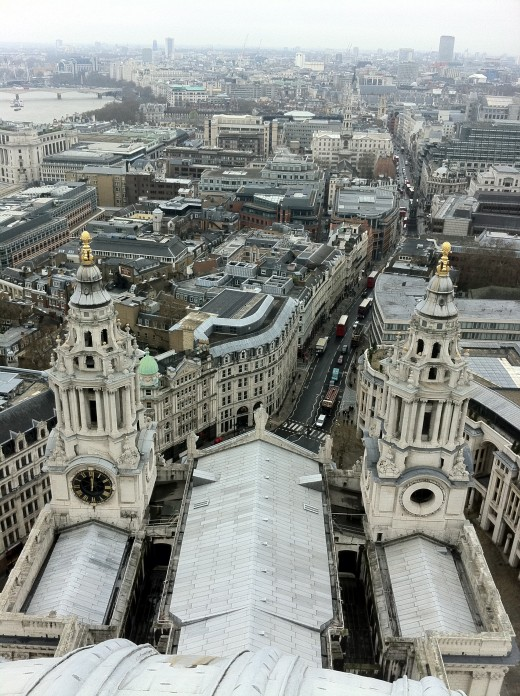 Top of St Paul's Cathedral
