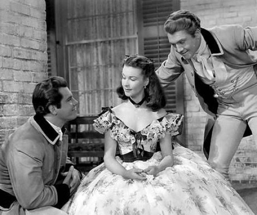 Reeves (far right) from Gone With the Wind