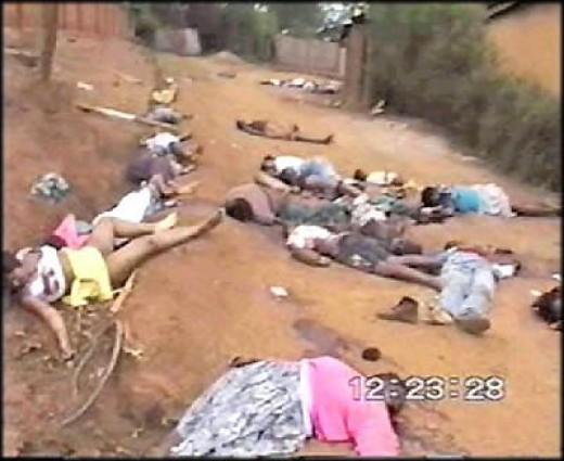 Rwandan genocide, 1994