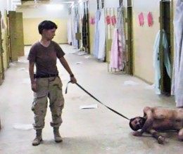 Atrocity as entertainment, defended by many of those involved as growing out of official military intelligence operations at Abu Ghraib.