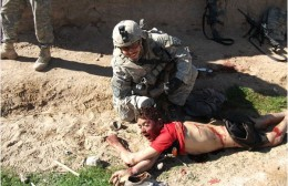 """Photo from Rolling Stones """"Kill Zone"""" report on actions of some members of the US military"""
