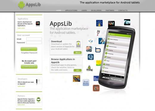 Appslib Website