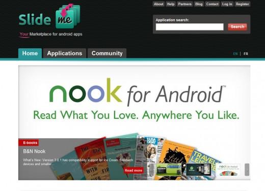 Slide Me Website