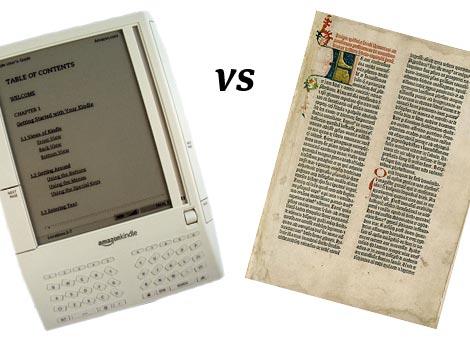 E-reader vs Paper